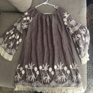 Purplish casual dress!